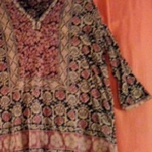 Lucky Brand top mult colored